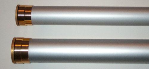 Aluminum fly rod tube for Fishing pole tubes