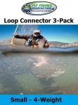 Small Loop Connector 3-Pack