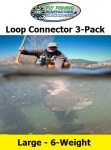 Large Loop Connector 3-Pack